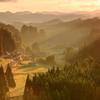 初秋の朝 ~大和の原風景~