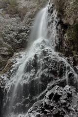 冬の滝Ⅱ ~御船の滝~