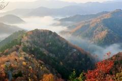おにゅう峠の秋