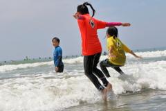 海と遊ぼう!