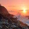 この朝日が見たくて  ~高知、足摺岬~