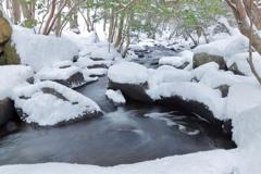 るり渓 冬の顔Ⅰ