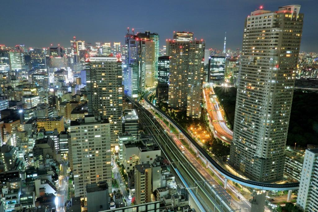 東京夜景Ⅱ