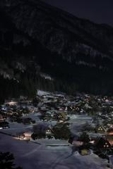 白川郷夜景