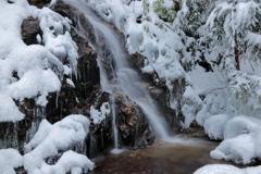 るり渓 冬の顔Ⅱ
