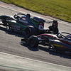 2021 2&4鈴鹿 2コーナーの競合い