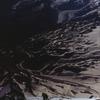 マッターホルン頂上直下を攀じるクライマー