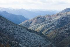 雪の大峰山
