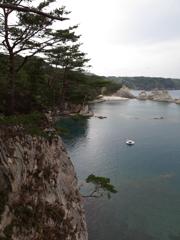 浄土ヶ浜の海の眺め*****
