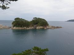 浄土ヶ浜の海の眺め**