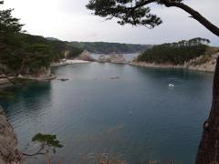 浄土ヶ浜の海の眺め***