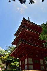 油山寺 三重塔