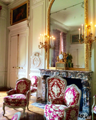 憧れの王妃の部屋
