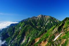 盛夏五竜岳
