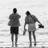 浜辺の少女