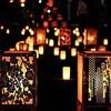 燈華会の街