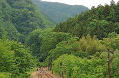 鉄路の静寂