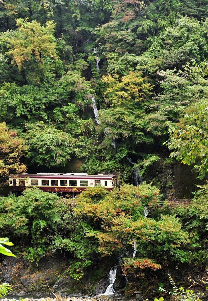 汽車見の滝