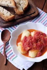 「フレッシュトマトソース&ニョッキ」