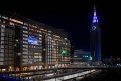 バスタ新宿前からの夜景