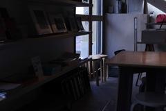 冬陽のカフェ