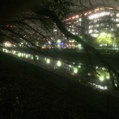 リバーサイド夜景-1