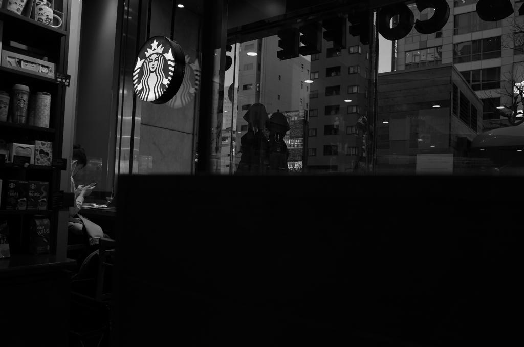 カフェな夕暮