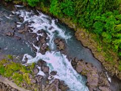 菊池川俯瞰