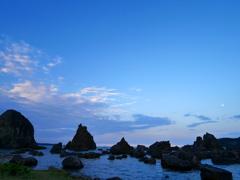 8月観光写真 其三 橋喰岩