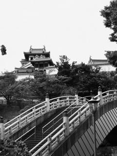 福知山城モノクローム2