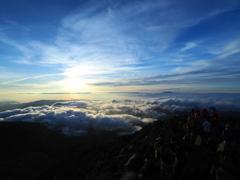 雲上の世界