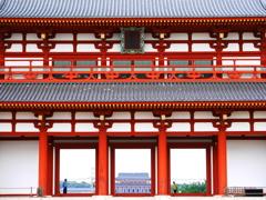 8月観光写真 其の二 朱雀門