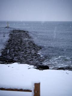 日本海景 1月