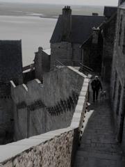 城塞を歩く