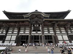 8月観光写真 其の一 大仏殿