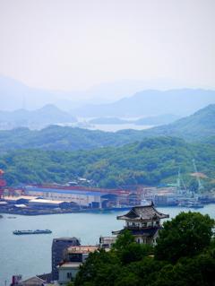 尾道城・遠景