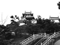 福知山城モノクローム
