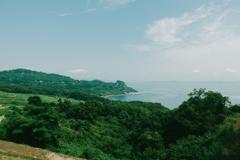 島から眺める海