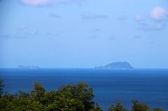 冠島と沓島