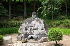 万治の石像