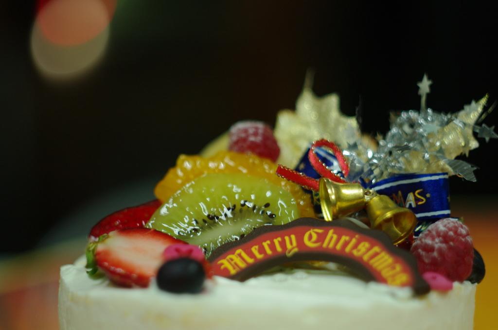 一つのケーキ