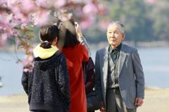 おじいちゃんたちの卒業式