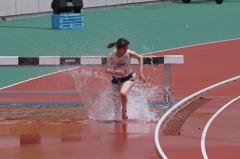 水も滴る競技中
