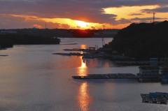 賢島の夕暮れ