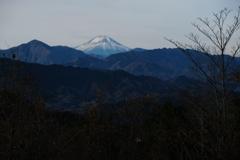 今朝の高尾山より