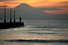桟橋と釣り人と・・・2