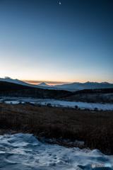 最強寒波の夜明け