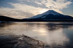 山中湖・氷結1