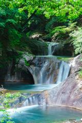 西沢渓谷・七ツ釜の滝
