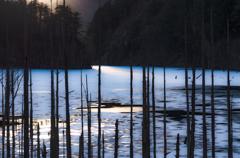 自然湖・優しい光